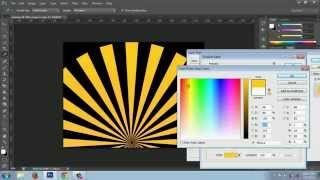 how to create a sun rays in photoshop