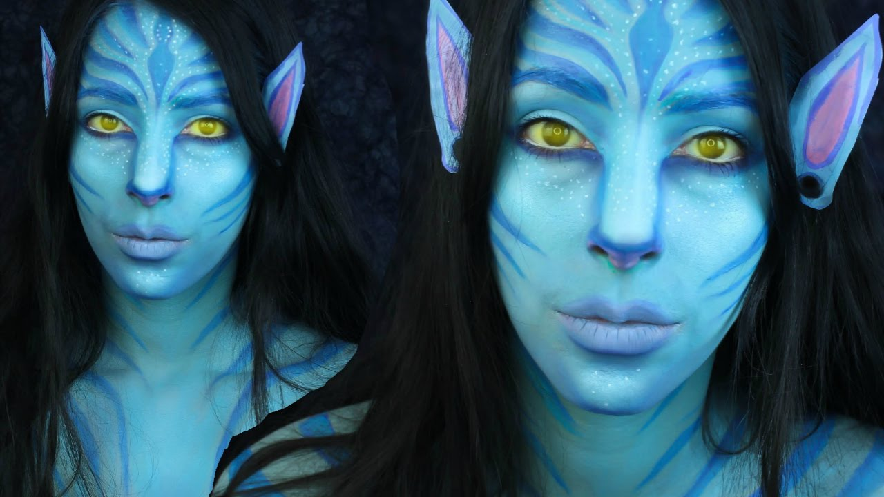 Avatar Face Paint Youtube