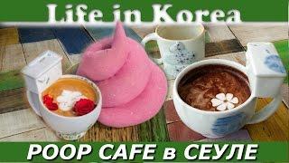 Какашечное кафе в Сеуле - Poop Cafe / Жизнь в Корее(Хотите отведать ароматный кофе из унитаза и закусить пирожком необычной формы с коричневой начинкой, и..., 2016-02-19T14:05:50.000Z)