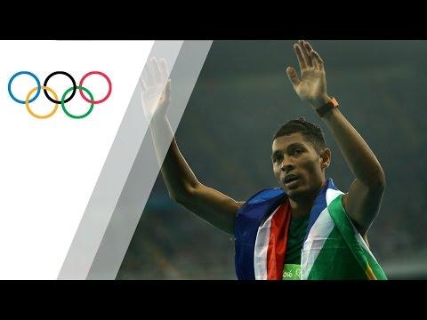 South Africa's Van Niekerk Wins 400m Gold