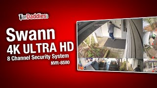 Swann NVR-8580 4K Ultra HD 8 Channel Security System Review