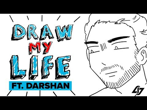 Darshan's Challenger Dad -  Draw My Life