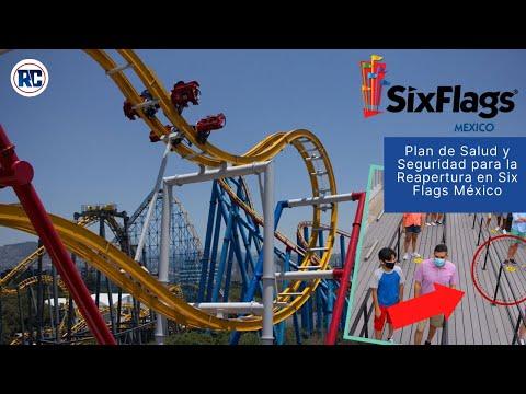 Conoce los NUEVOS e INNOVADORES procedimientos para la reapertura de Six Flags México