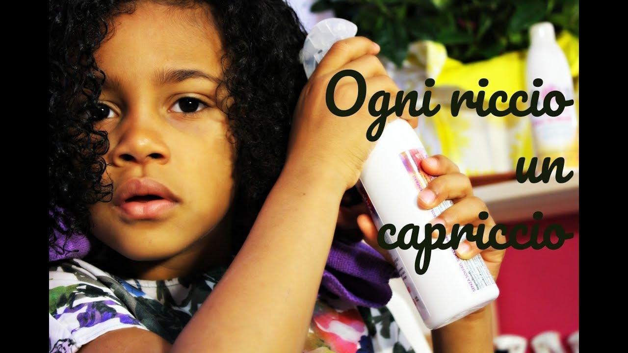 Come Curare I Capelli Ricci E Afro Dei Bambini