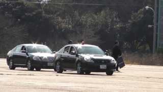 警視庁 SP 警護訓練 VIP protection training Tokyo M.P.D. (2 of 2)