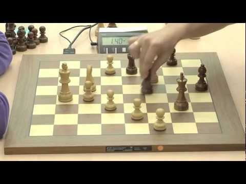 Judit Polgar (and later, Ponomariov) in Tiebreak Blitz Action - FIDE World Chess Cup 2011