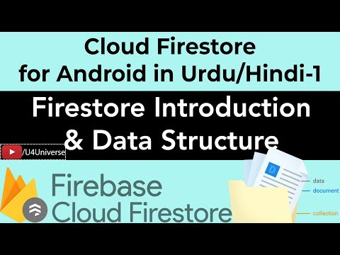 Firestore For Android-1 | Firebase Cloud Firestore Introduction & Data Structure | U4Universe