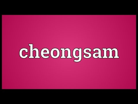 Cheongsam Meaning