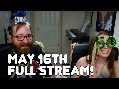 Jack and Caiti's full stream from Monday, May 16th, 2016!