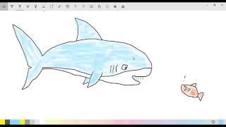 видео Большая белая акула или кархародон.