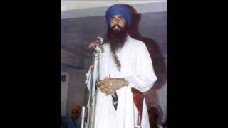 Sant  jarnail Singh ji  vs sher marna