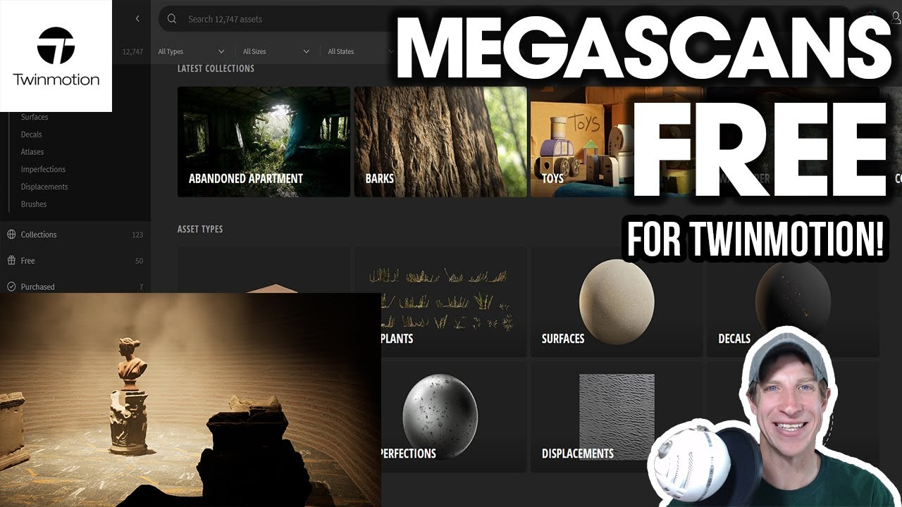 Megascans FREE For Twinmotion Users! How to Get Free Assets!