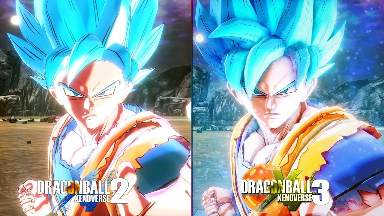 Xenoverse 3 New Graphic Mod In Dragon Ball Xenoverse 2