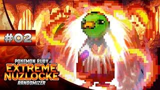 Pokemon EXTREME Ruby Nuzlocke - Episode #02: HARD MODE ACTIVATED!!!