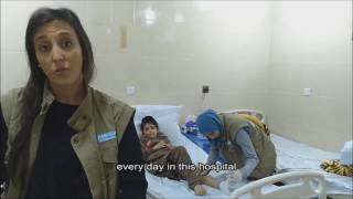 Treating victims of the bombings in Mosul - Handicap International - Iraq