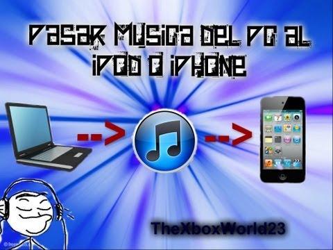 Tutorial:Como pasar musica del PC al iPod/iPhone(Ahora si funciona)