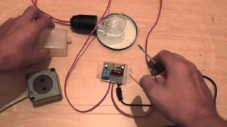 Обзор фото реле (автомат уличного освещения)/Overview of the photo relay