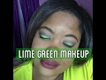 LIME GREEN ST PATRICK'S  DAY MAKEUP TUTORIAL | BEAUTYBYDIONNAD