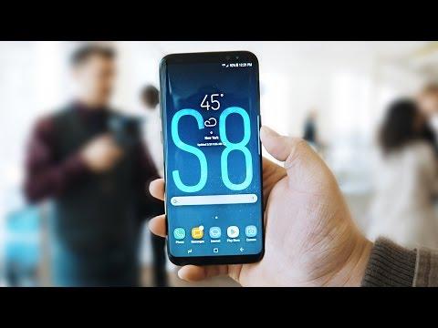 Samsung Galaxy S8 First Impression (Samsung Unpacked 2017)