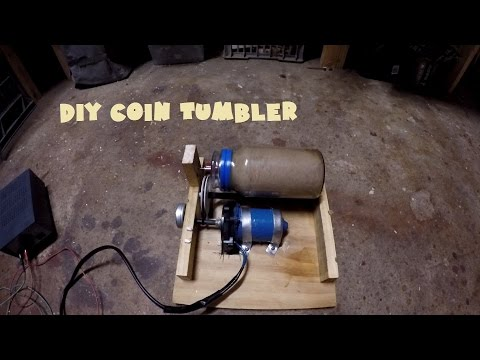 #9 DIY Coin tumbler for Metal Detecting finds