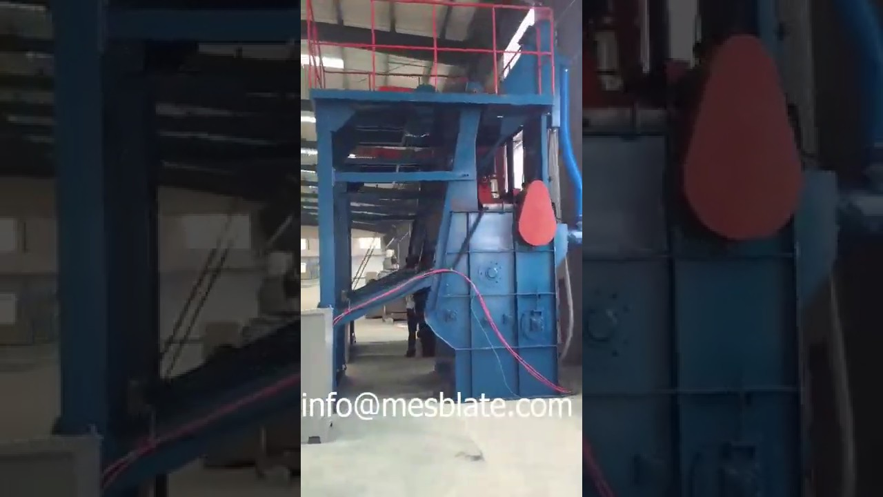 Tumble Belt Shot Blasting Machine Video 1