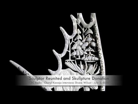 CBC Interview - Artist Reuinited and Skullpture Donation - July 2, 2008