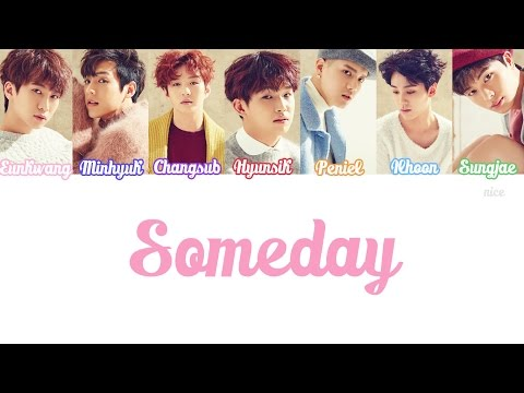 BTOB (비투비) - SOMEDAY (언젠가) Lyrics (Color Coded/ENG/ROM/HAN)