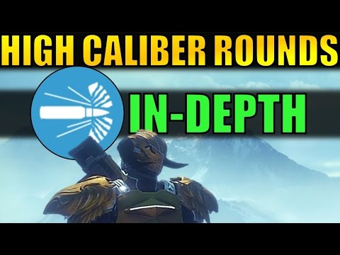 Destiny: High Caliber Rounds In Depth! | Weapon Perk Testing