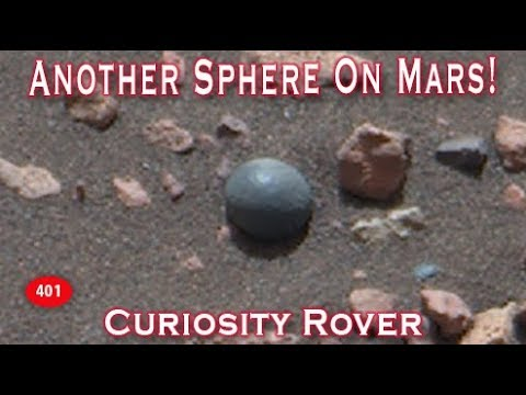 Another Metallic Sphere / Ball Object Found On Mars?