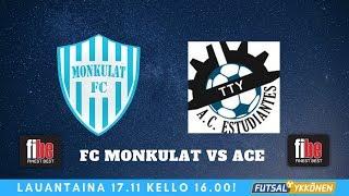FC Monkulat vs ACE 17.11.2018 maalikooste