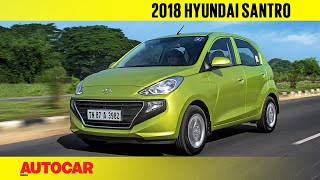 2018 Hyundai Santro | Manual & AMT Review |  Autocar India