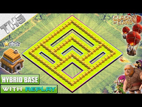 NEW BASE TH5 TROPHY Base With REPLAY 2018 | Town Hall 5 DEFENSE Base - Clash Of Clans