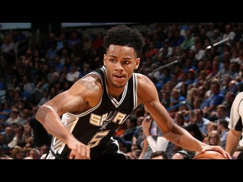 Dejounte Murray Rookie Season Highlights with the San Antonio Spurs