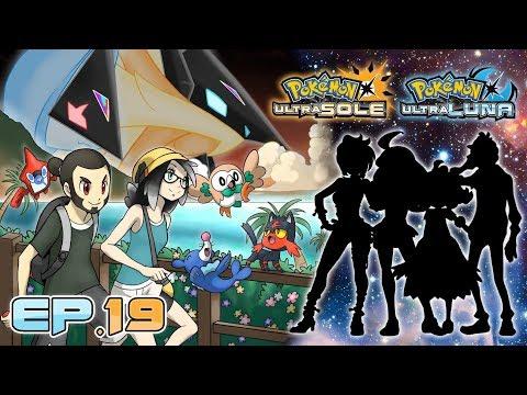 Gameplay Live Pokémon Ultrasole e Ultraluna #19 - La Lega Pokémon e Episodio Rainbow Rocket!