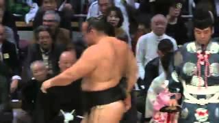 平成25年十一月場所4日目 sumo 大相撲 九州場所.