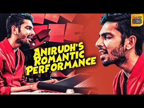 Anirudh's LIVE Romantic Performance - Fall in Love Again!!