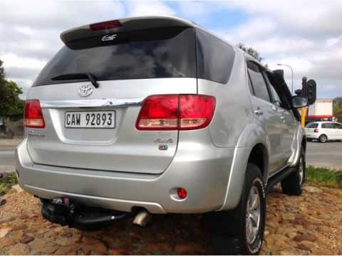2008 TOYOTA FORTUNER 3 0 D4-D 4X4 Auto For Sale On Auto Trader South Africa