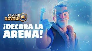 Clash Royale En Español: ¡Decora la Arena! ❄️