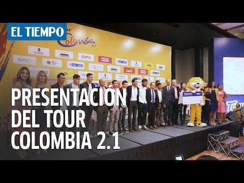 La presentación del Tour Colombia 2.1 en Bogotá   EL TIEMPO