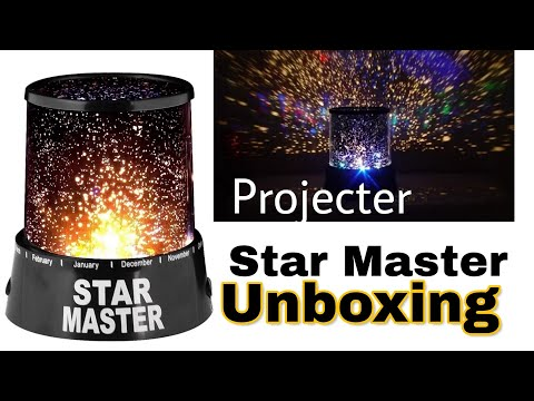 Star Master Colorful Romantic LED Cosmos Sky Starry Moon Beauty Night Projector