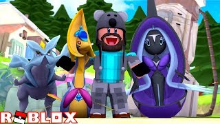 CRESSELIA + TAPU FINI + KYUREM!!   Pokémon Brick Bronze Randomizer [#3]   ROBLOX