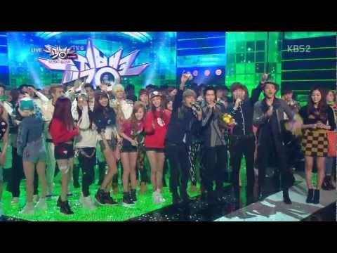 130201 Music Bank SNSD - I Got A Boy+Ending