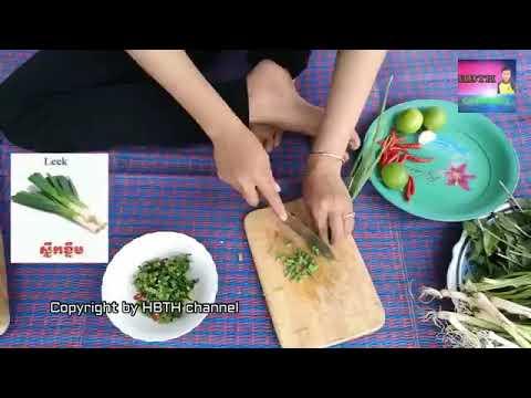 How To Boil Chicken Follow Khmer Style ស្ងោរជ្រក់មាន់  Boil Chicken