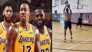 Dwight Howard Works On His Perimeter Game After Lakers Signing! 🏀
