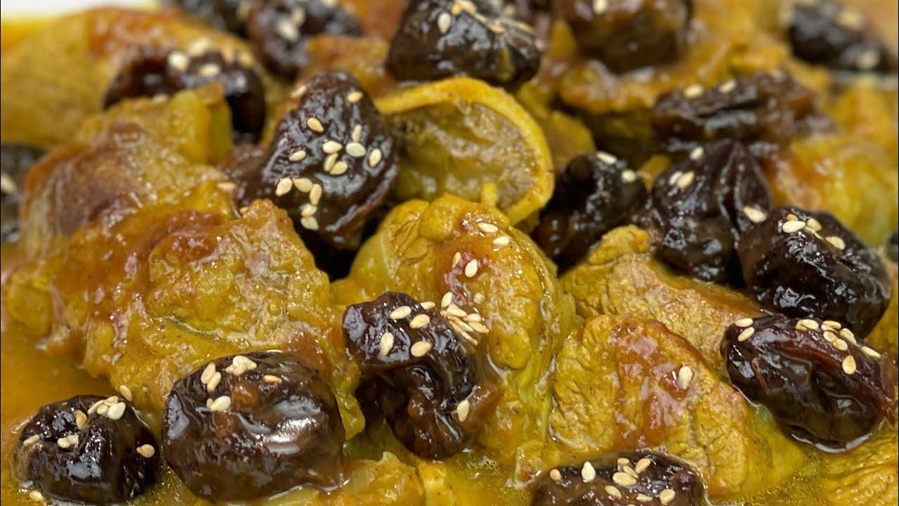 RECETTE SIMPLIFIÉE DU TAJINE D'AGNEAU AUX PRUNEAUX 🥘 Deli Cuisine