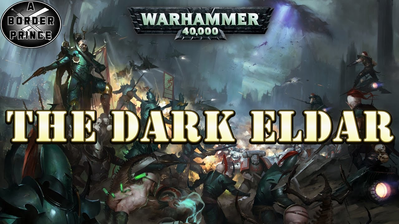 #warhammer #40k Lore The History of the Dark Eldar / Drukhari