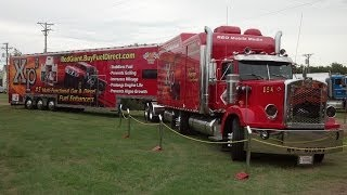 Red Giant the World's Longest Semi-Tractor