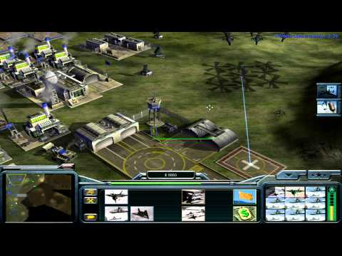 Command and Conquer: Generals USA Campaign Mission 6 - Desperate Union [HD]