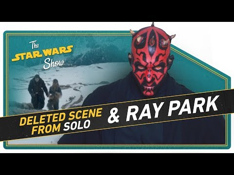 NEW Solo Deleted Scene and Ray Park on Returning as Maul!