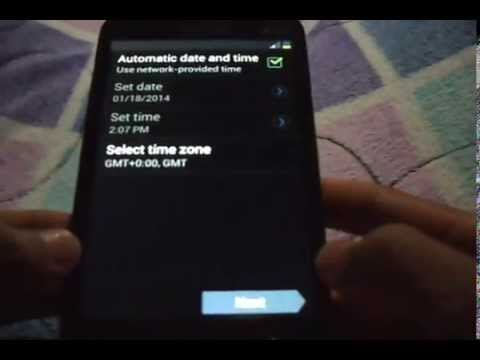 How To Reset A Samsung GT-I8552 (Galaxy Win)
